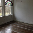 I love this floor, very rustic, but with a coat of sealer in a gloss it adds just the right sparkle!